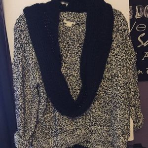Elegant sweater can dress up or casual